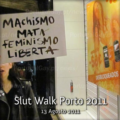PORTUGAL: Slut Walk Porto 2011