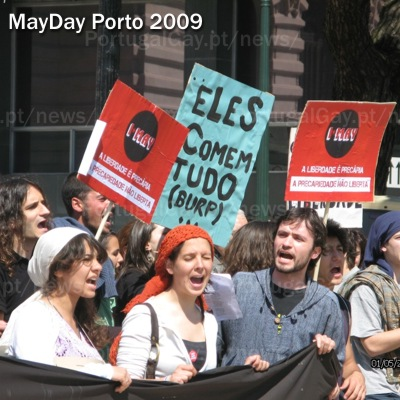 PORTUGAL: MayDay no Porto