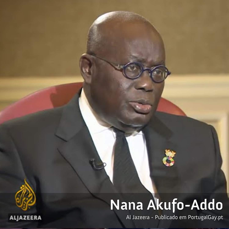 GANA: Presidente diz que legalização da homossexualidade é inevitável