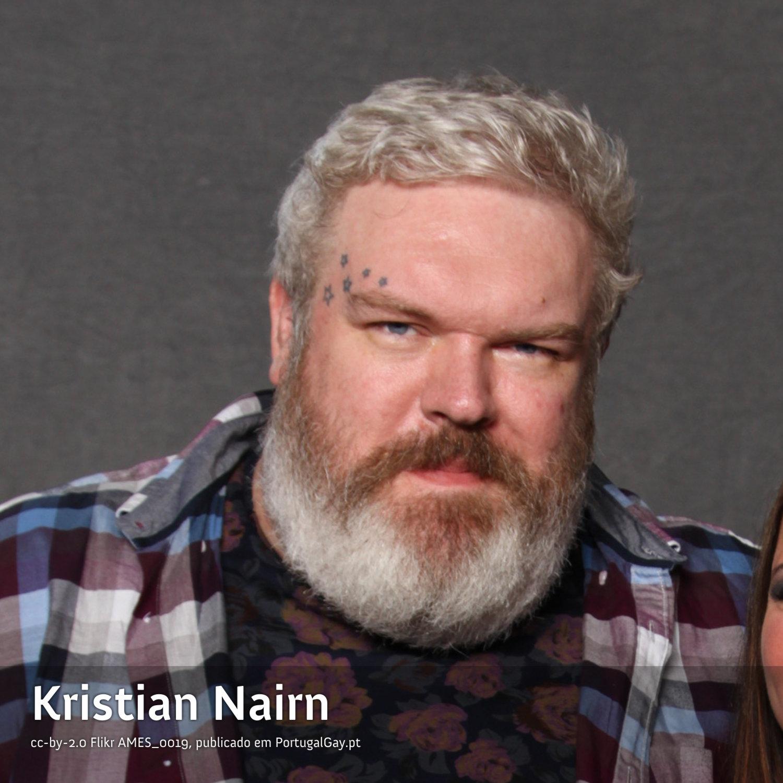 REINO UNIDO: Kristian Nairn não vai segurar a porta de entrada aos homofóbicos