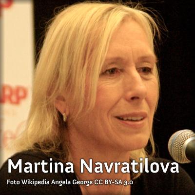 EUA: Tenista Martina Navratilova pede a namorada em casamento no U.S. Open