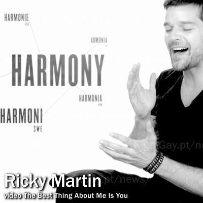 EUA: Ricky Martin apresenta novo video-clip