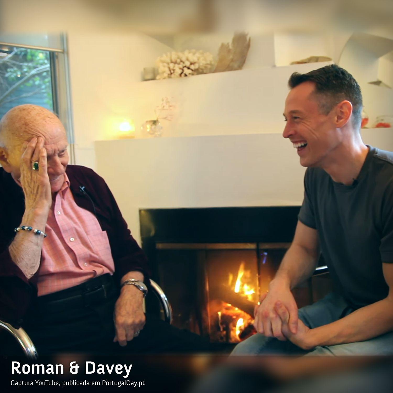 EUA: Homem com 95 anos assume-se como gay e derrete todos os nossos corações