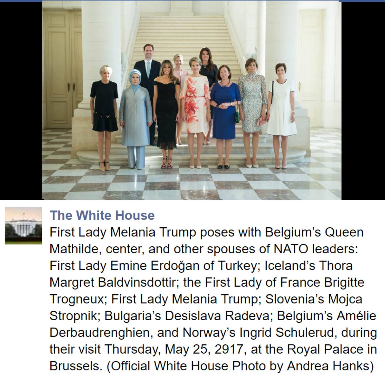 EUA: Casa Branca esquece-se de referir marido do líder de Luxemburgo em foto