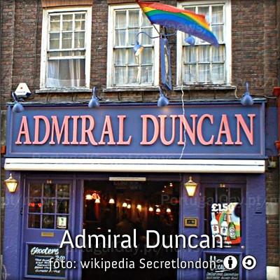 REINO UNIDO: Recordando Admiral Duncan, 12 anos depois