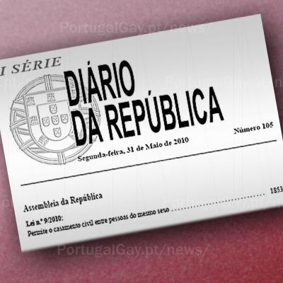 PORTUGAL: Lei do Casamento publicada no Diário da República