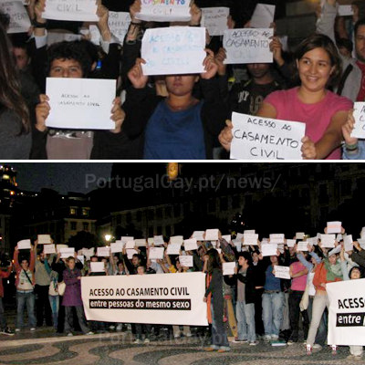 PORTUGAL: Flash Mobs pelo Casamento Civil
