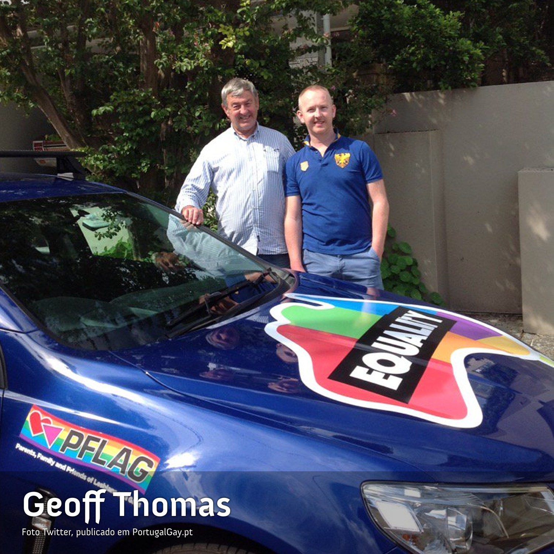 AUSTRÁLIA: Canalizador decora carro com autocolantes para apoiar o seu filho homossexual