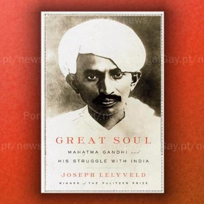 ÍNDIA: Mahatma Gandhi era bissexual e deixou a mulher por um homem