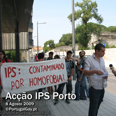 PORTUGAL: Ac��o no Porto exige demiss�o do Presidente do IPS