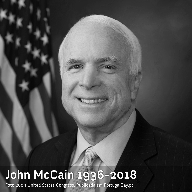 EUA: Morreu John McCain, um político conservador mas com historial de apoio LGBT+