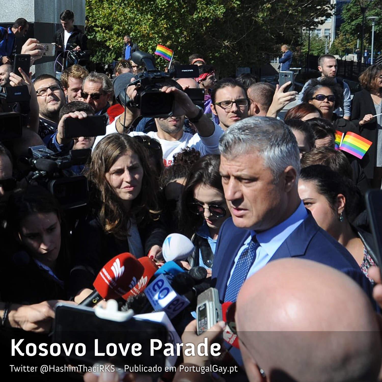 KOSOVO: País maioritariamente muçulmano com primeiro orgulho LGBT+ oficial e presidente ajuda