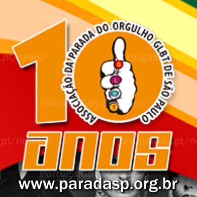 BRASIL: Parada de São Paulo reúne mais de 3 milhões