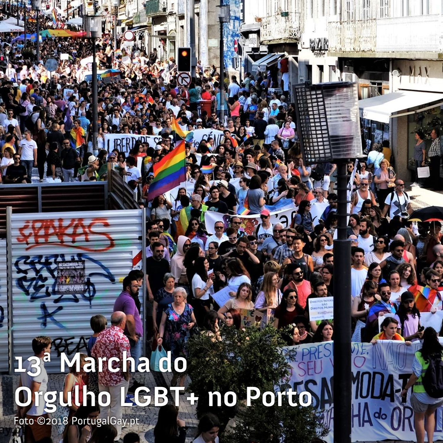 PORTUGAL: Orgulho LGBT+ enche as ruas do Porto