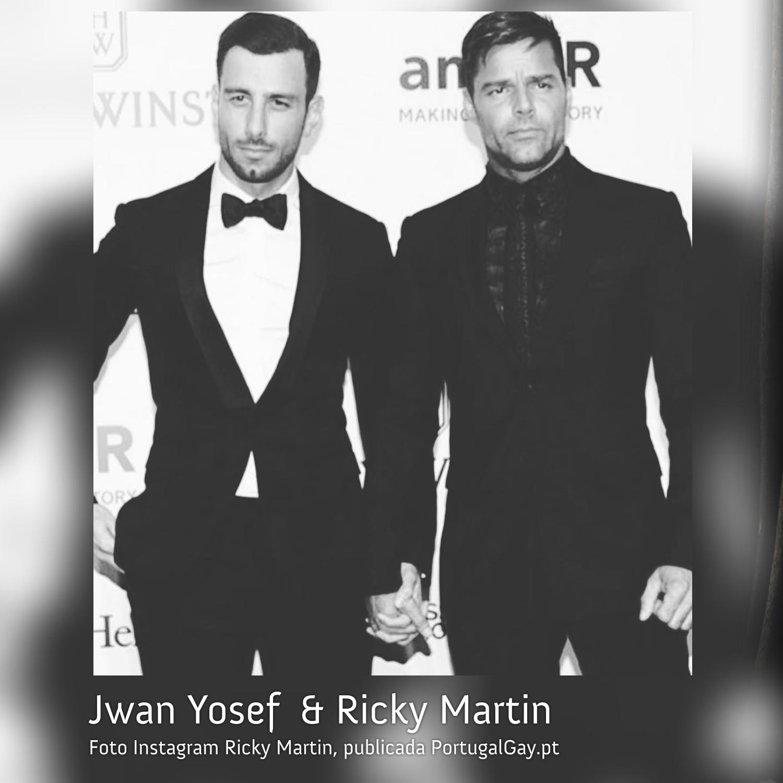 EUA: Ricky Martin e Jwan Yosef estão casados
