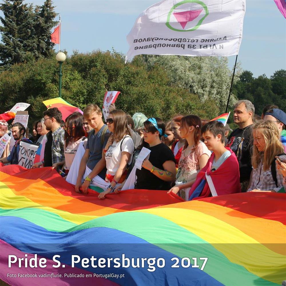 RÚSSIA: Orgulho em São Petersburgo marcado por detenções