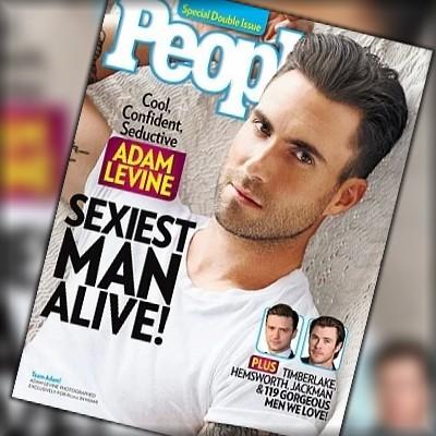 MÚSICA: Adam Levine eleito o mais sexy