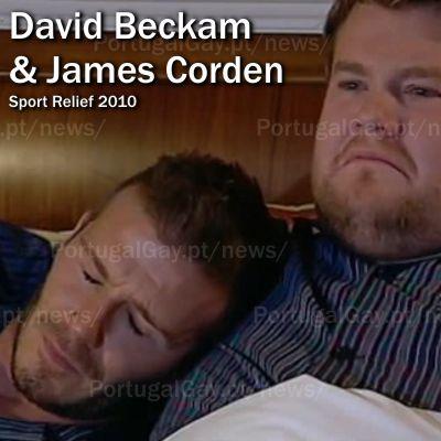 REINO UNIDO: David Beckam faz vídeo gay para ajudar os necessitados
