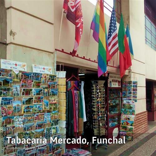 PORTUGAL: Uma bandeira arco-íris no Funchal